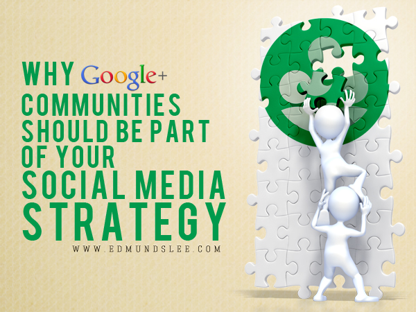 Why you should use Google+ communities