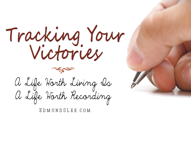 system for how you keep track of your victories