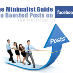 The Minimalist Guide to Boosted Posts on Facebook